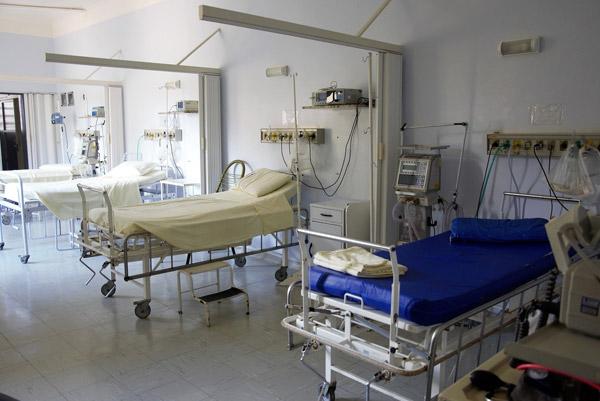 Nurse in hands